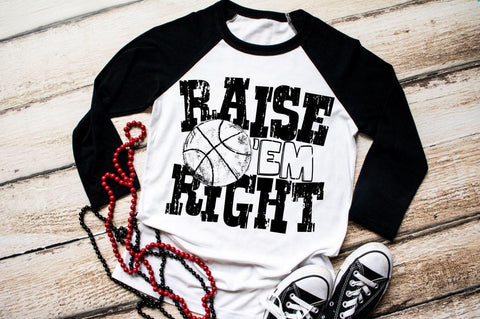 HMDTR SPTS Raise Em Right Basketball (design only)