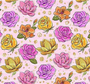 R22 : FALL - Pink Harvest Floral *NEW*