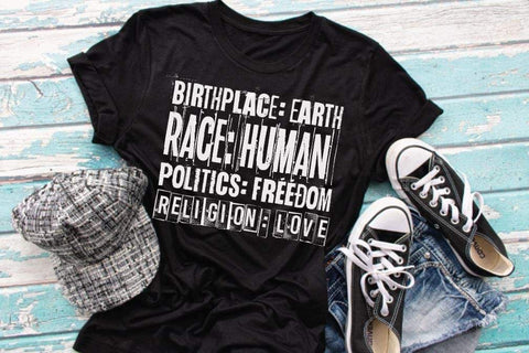 HMDTR MISC Birth Race Politics Religion (design only)