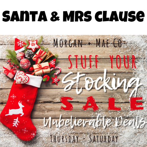 Santa & Mrs Claus: Stuff your Stocking