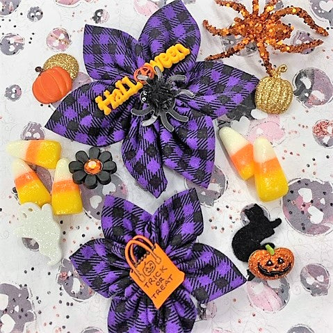 Halloween Bow (as pictured) - Morgan+Mae Co.