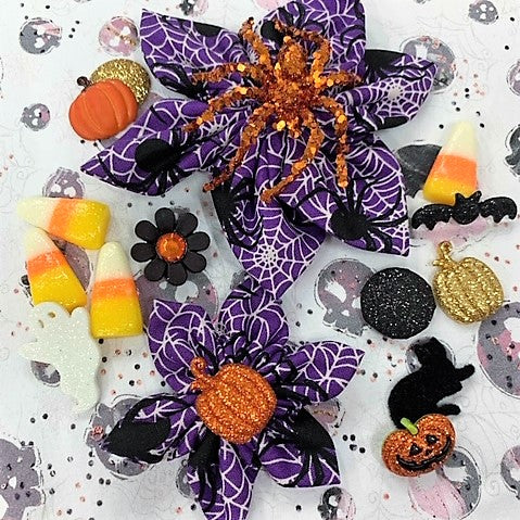 Spider Halloween Bow (as pictured) - Morgan+Mae Co.