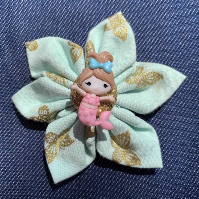 Mermaid Hugs Everyday Bow (as pictured) - Morgan+Mae Co.