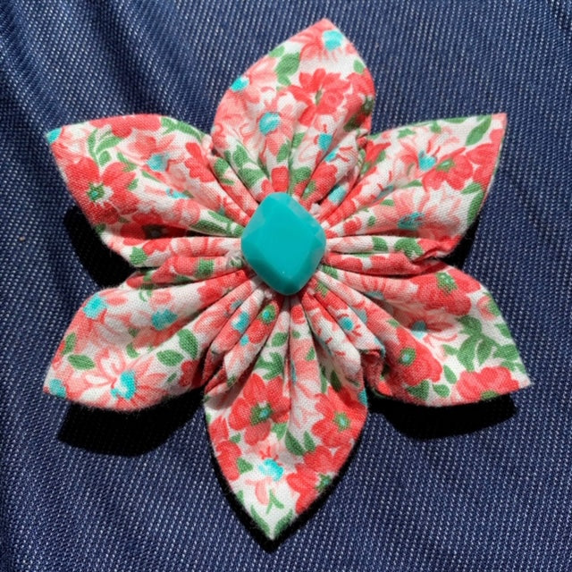 Spring Floral Everyday Bow (as pictured) - Morgan+Mae Co.