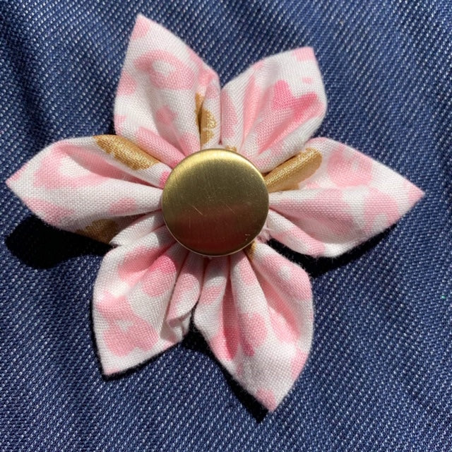 Pink/Gold Everyday Bow (as pictured) - Morgan+Mae Co.