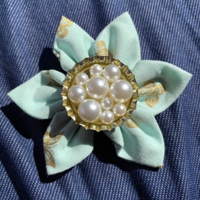 Pearls Everyday Bow (as pictured) - Morgan+Mae Co.