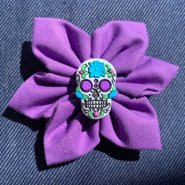 Sugar Skull Everyday Bow (as pictured) - Morgan+Mae Co.