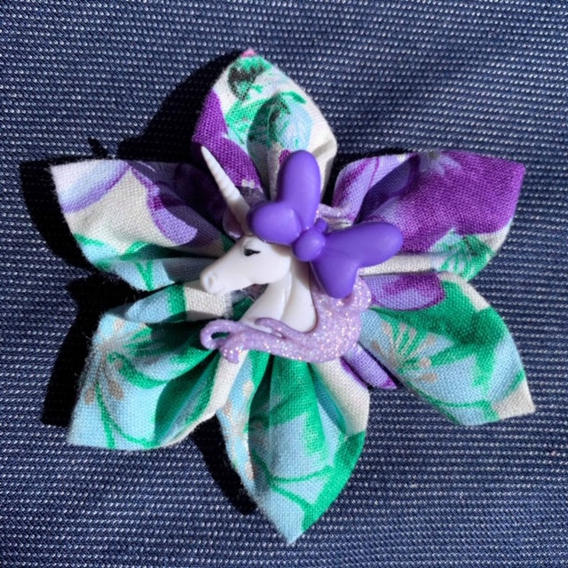 Unicorn Purple Everyday Bow (as pictured) - Morgan+Mae Co.