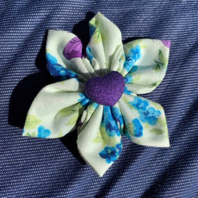 Purple Heart Everyday Bow (as pictured) - Morgan+Mae Co.