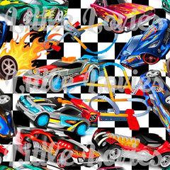 POPULAR DEMAND Checkered Hot Wheels