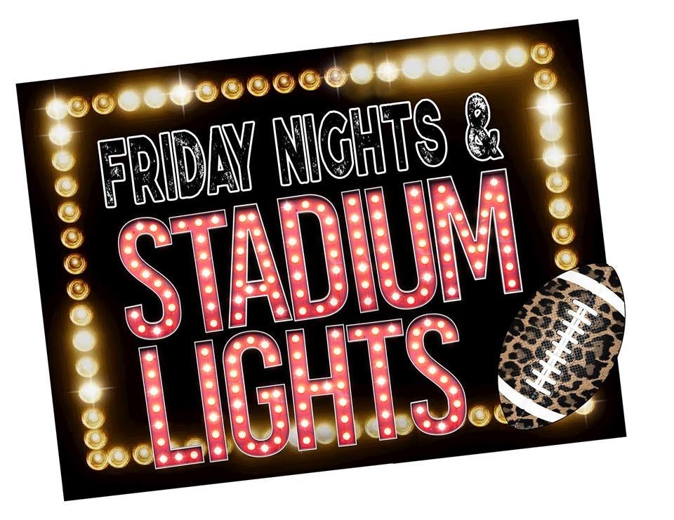 Friday Nights & Stadium Lights PRINTABLE (design only) - Morgan+Mae Co.