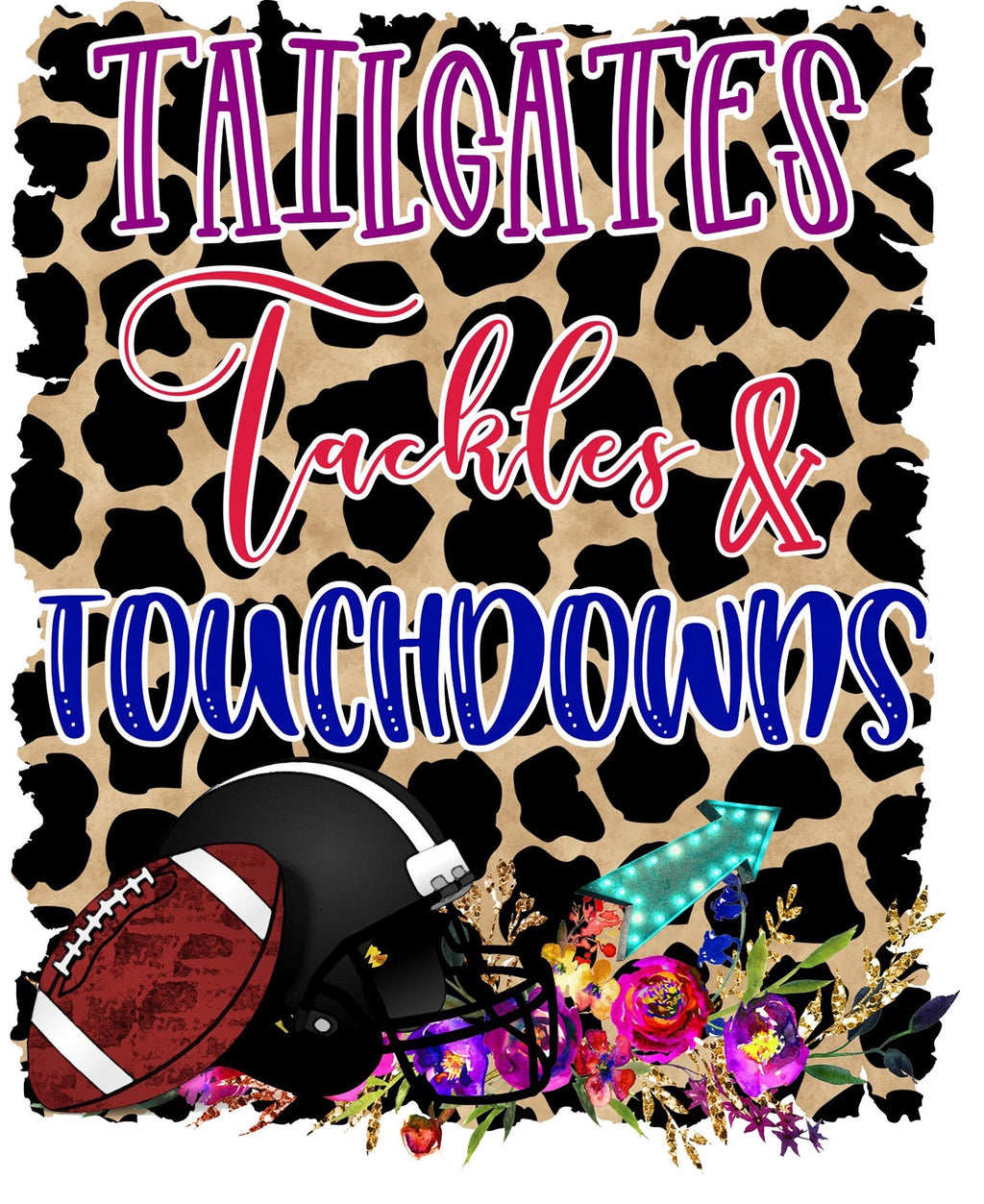 Tailgates, Tackles & Touchdowns PRINTABLE (design only) - Morgan+Mae Co.