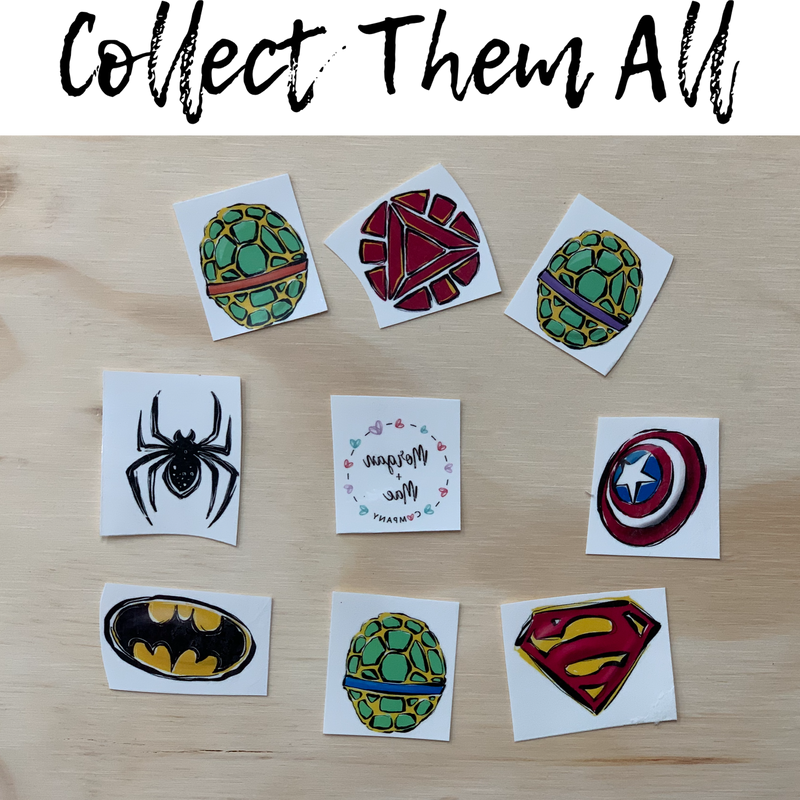 Superhero Tattoos - Morgan+Mae Co.