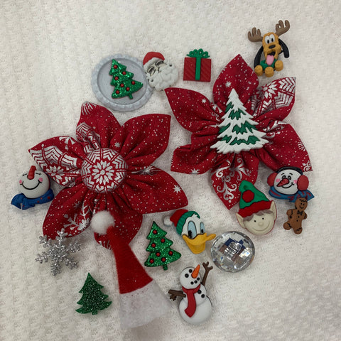 Silver Bells Holiday Bow (as pictured) - Morgan+Mae Co.