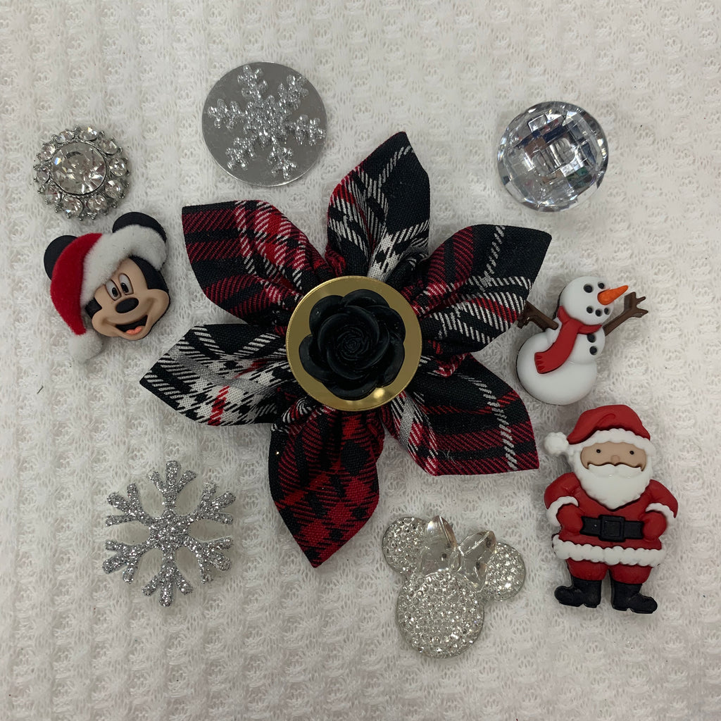 Holiday Plaid Holiday Bow (as pictured) - Morgan+Mae Co.