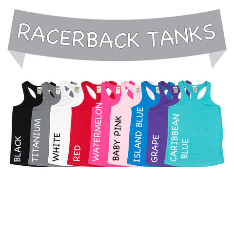 Basic Racerback Tank (for design add-on) - Morgan+Mae Co.