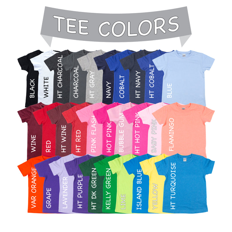 Basic T-shirts Basic Colors (for design add-on) - Morgan+Mae Co.