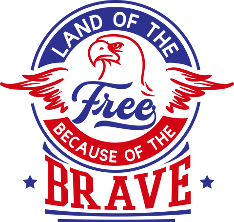 Land of the Free because (design only) - Morgan+Mae Co.