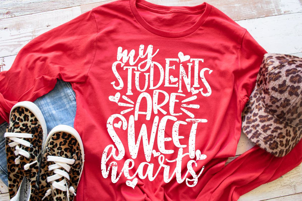 My Students are Sweet Hearts PRINTABLE (design only) - Morgan+Mae Co.