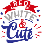 Red white and Cute (design only) - Morgan+Mae Co.