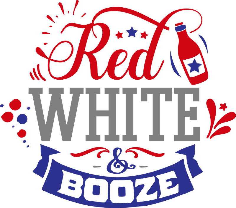 Red white and booze (design only)