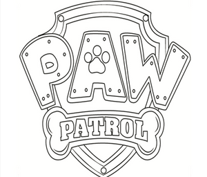 FREE Paw Patrol Digital Coloring Book