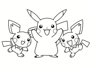 FREE Pokemon Digital Coloring Book