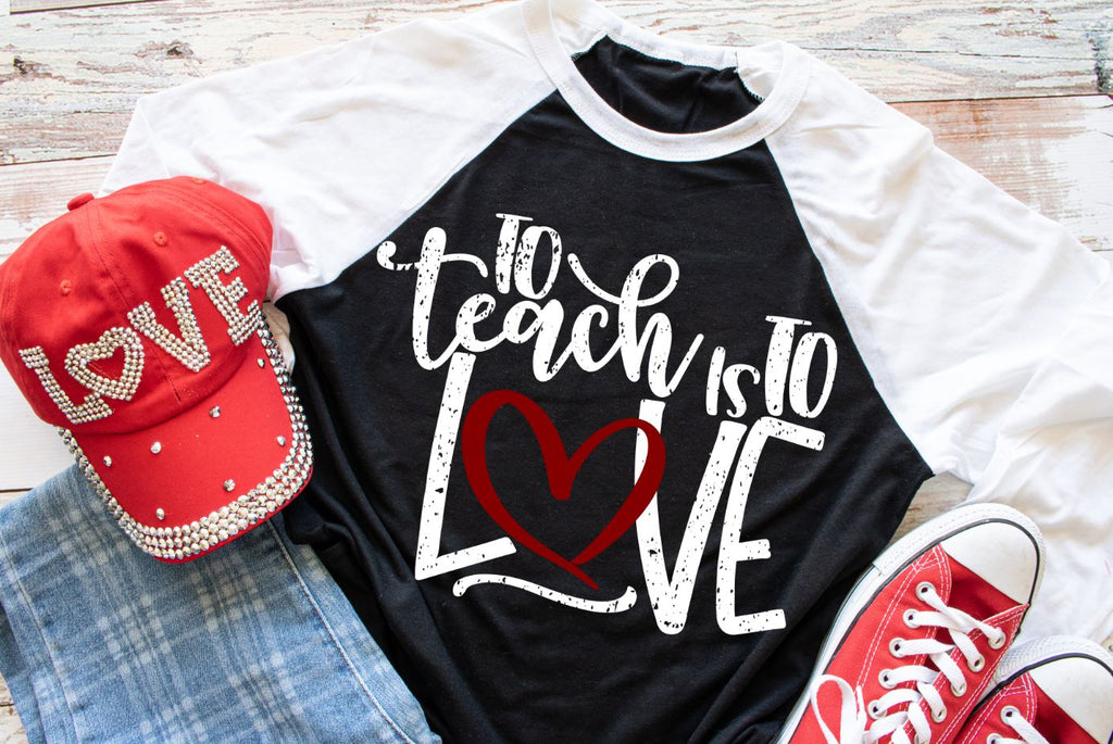 To Teach is to Love PRINTABLE (design only) - Morgan+Mae Co.