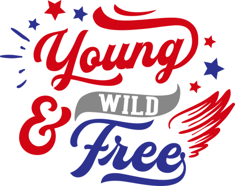 Young wild and free (design only) - Morgan+Mae Co.