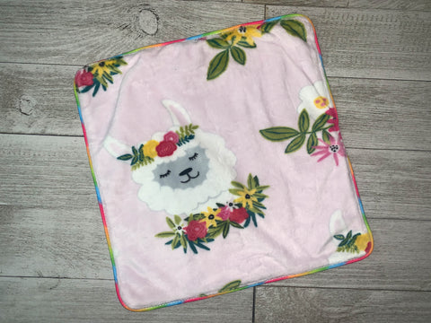 {RTS} LLAMA Lovey Cuddle Blanket (BRAND NEW)
