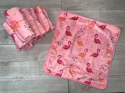 {RTS} Pink Flamingo Lovey Cuddle Blanket (BRAND NEW)