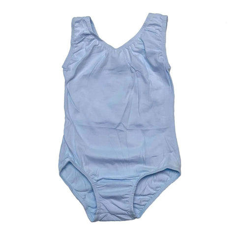 Light Blue Sleeveless Leotard (Tank) - Morgan+Mae Co.
