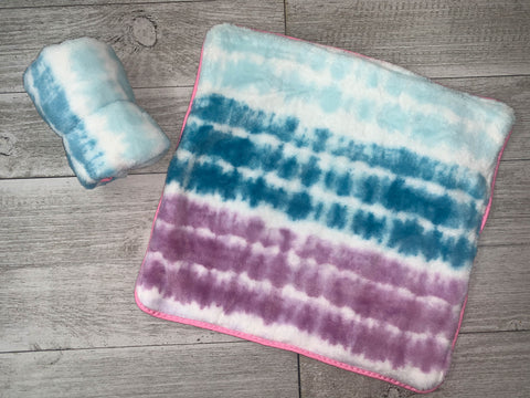 {RTS} Tie Dye Lovey Cuddle Blanket (BRAND NEW)