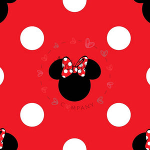Classic M&M Ears Red Dots