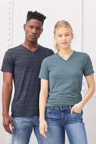 Adult Basic V Neck T-shirt (for design add-on) - Morgan+Mae Co.