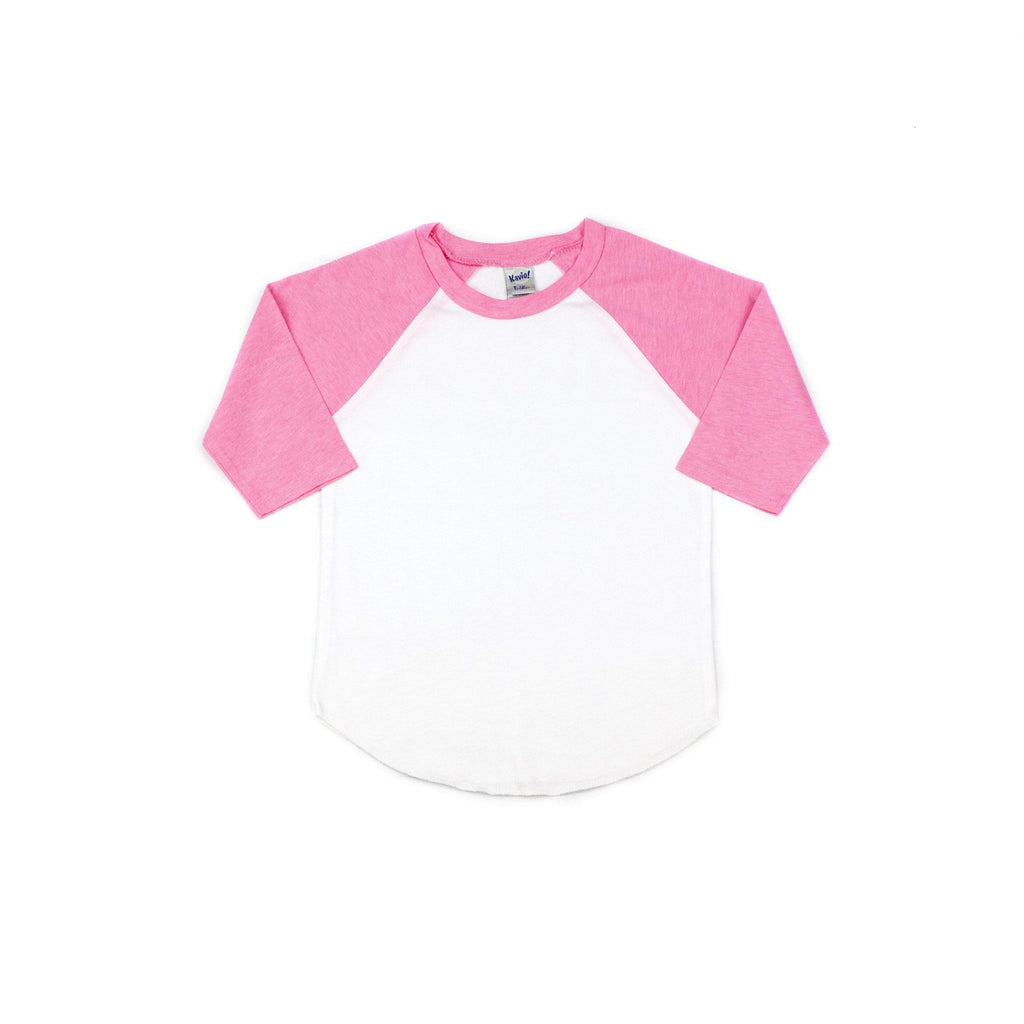 Basic Raglan T-shirts (for design add-on) - Morgan+Mae Co.