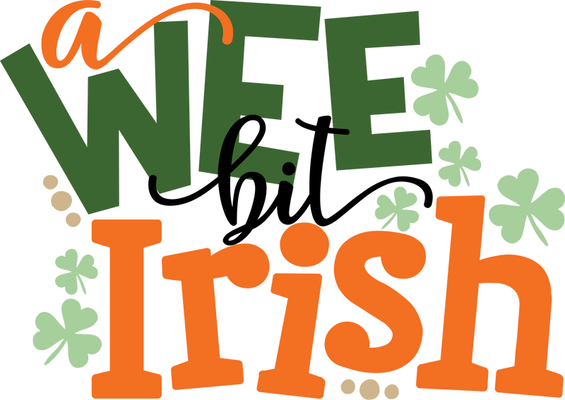 Morgan+Mae Co. Design A Wee Bit Irish (design only)