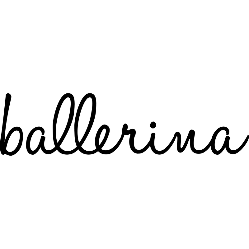 Morgan+Mae Co. Design Ballerina (design only)
