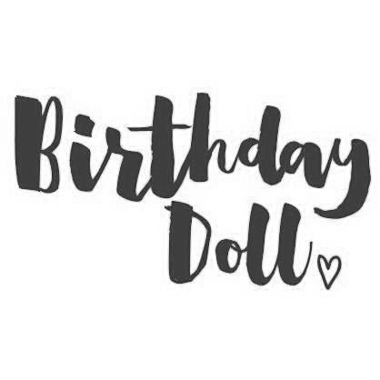 Birthday Doll (design only) - Morgan+Mae Co.