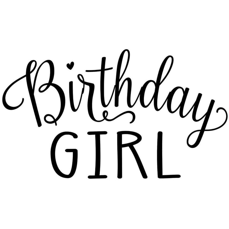 Morgan+Mae Co. Design Birthday Girl (design only)