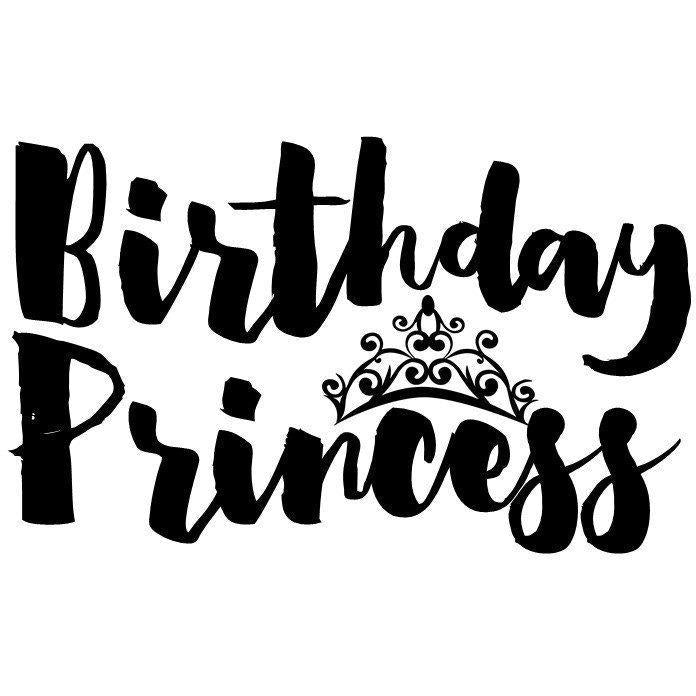 Morgan+Mae Co. Design Birthday Princess (design only)