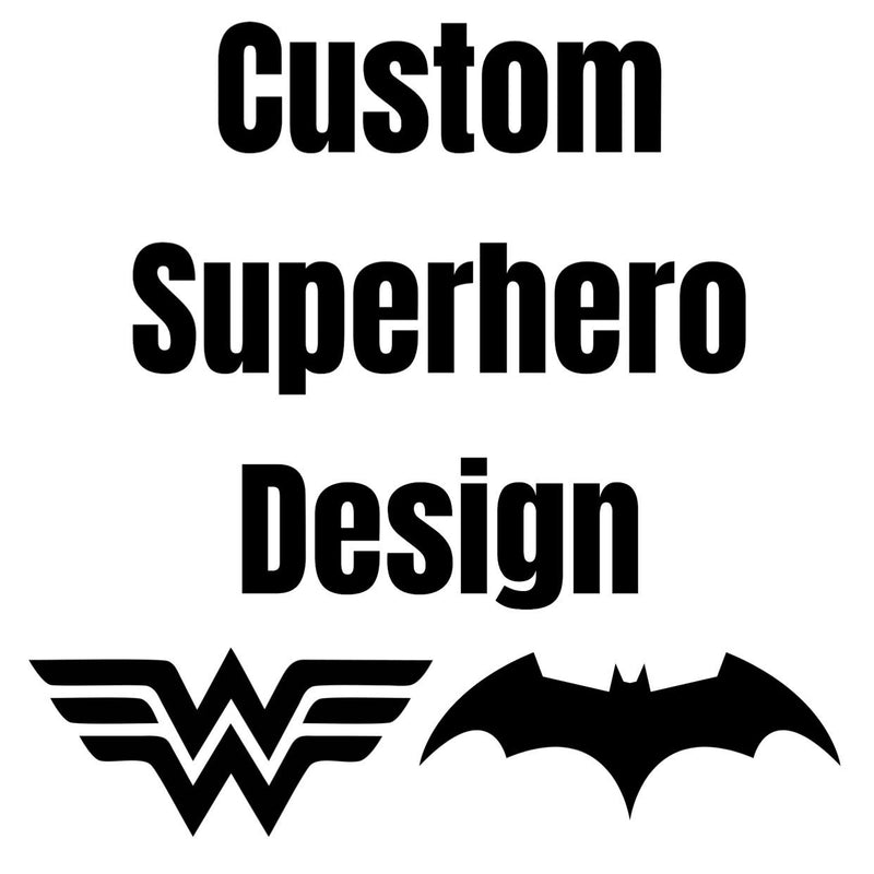 Morgan+Mae Co. Design Custom superhero design (design only)