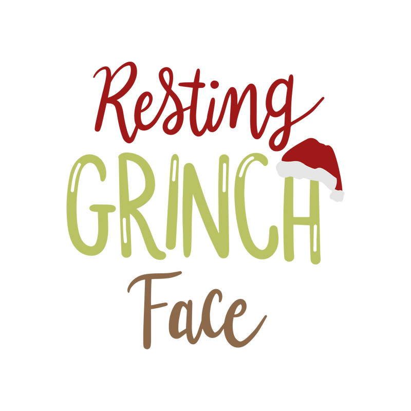 Morgan+Mae Co. Design Grinch Face (design only)