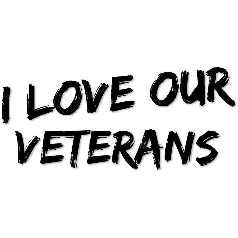 I love our Veterans (design only) - Morgan+Mae Co.