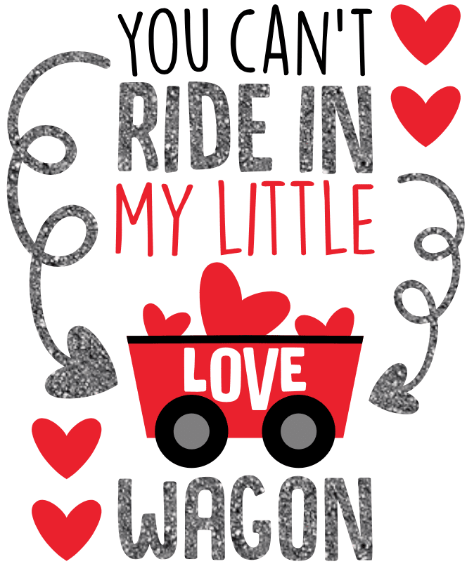 Morgan+Mae Co. Design Little Love Wagon