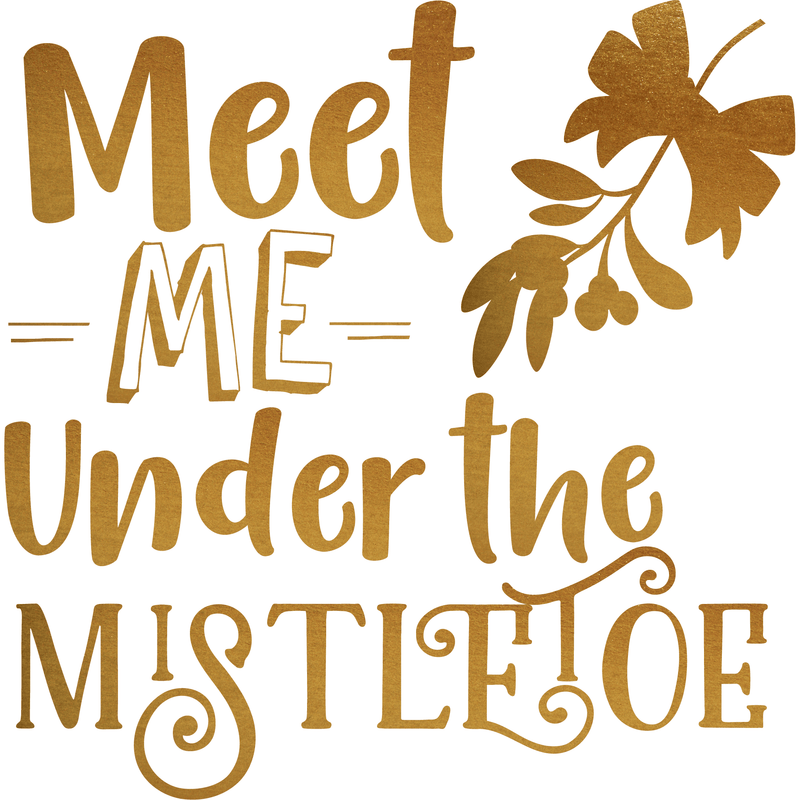Meet me under the mistletoe (design only) - Morgan+Mae Co.