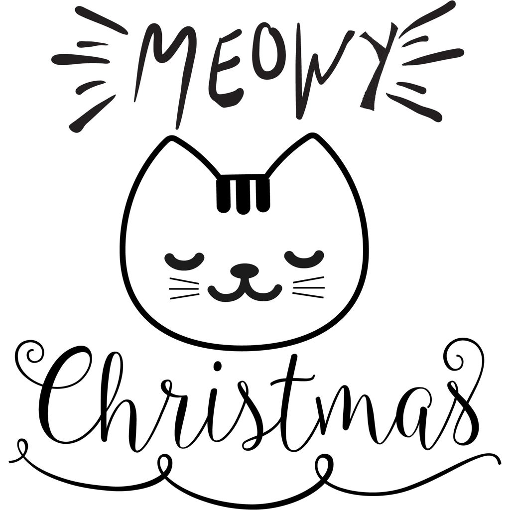 Morgan+Mae Co. Design MEOWY Christmas (design only)