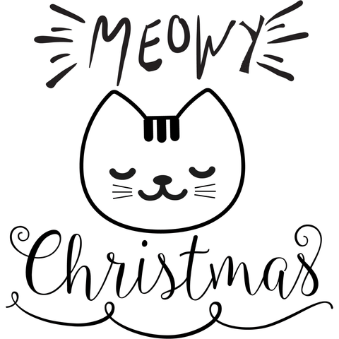 MEOWY Christmas (design only) - Morgan+Mae Co.