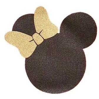 Minnie Glitter bow (design only)
