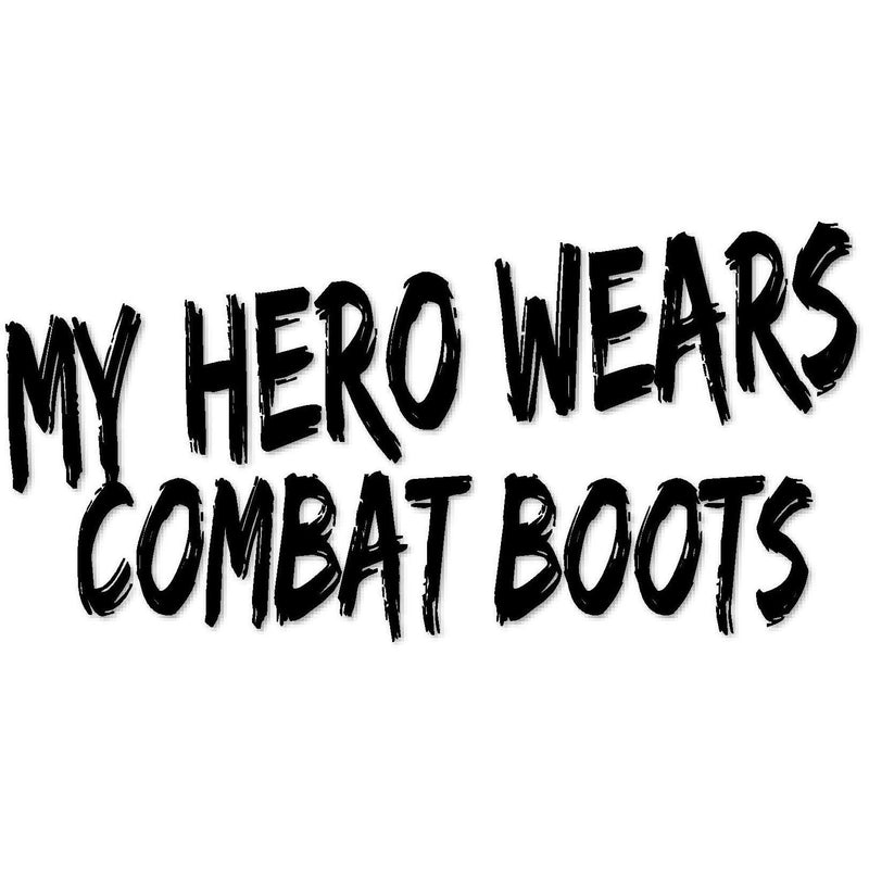 My hero wears combat boots (design only) - Morgan+Mae Co.